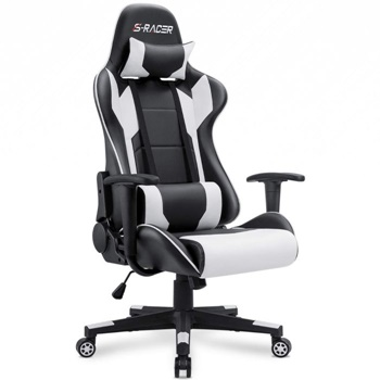 Homall Gaming High Back PU Leather Chair