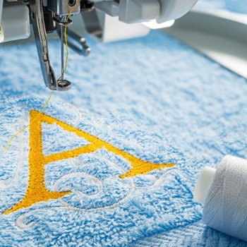 How to Monogram with a Regular Sewing Machine