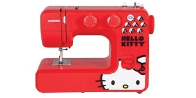 Janome 13512 Red Hello Kitty Featured