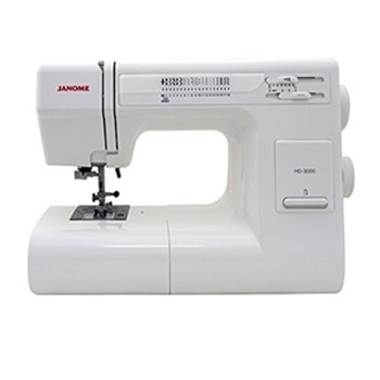 Janome HD3000 Heavy-duty Sewing Machine w-Hard Case