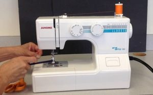 How to Thread a Janome Sewing Machine Featured