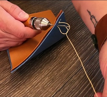 How to Use a Sewing Awl